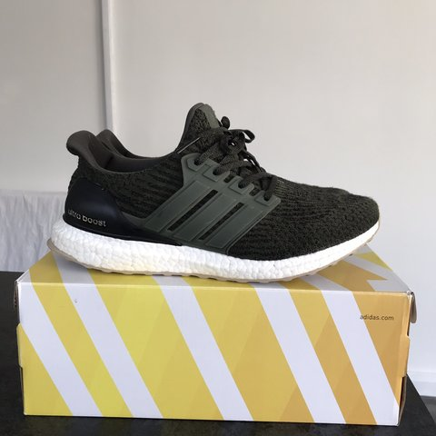 c180cc7dec7ad Adidas ultra boost 3.0 military green