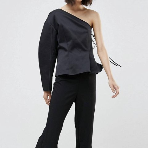 c0442d3a292 @augustconnie. last month. London, United Kingdom. Weekday press collection  rogue one shoulder top ...
