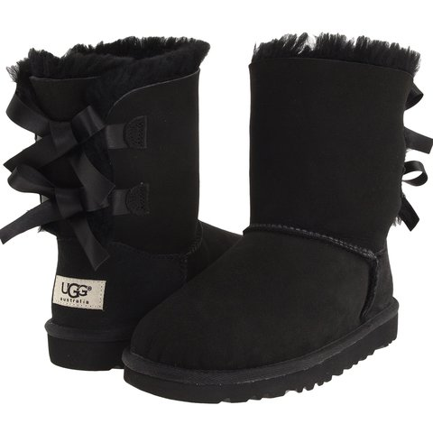 4adf6d8d6 Black UGG Boots with Bow. BRAND NEW ‼ #Uggs #Boots #Womens - Depop