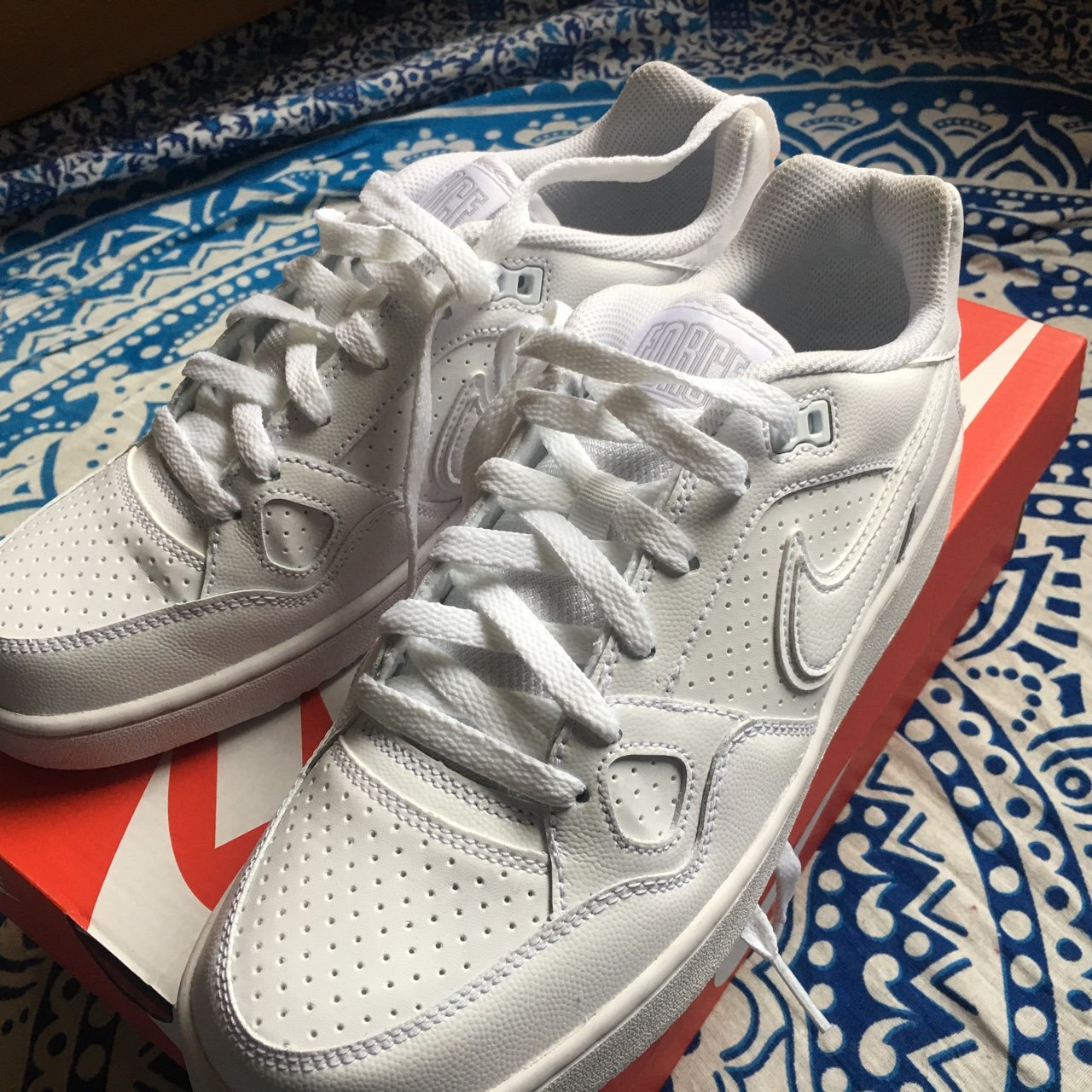5bba14f2c613 Nike son of force rare Nike shoes. Bought last weekend worn - Depop