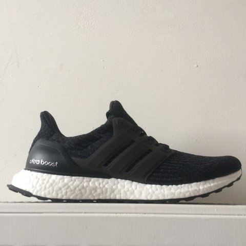 4a411385bd026 Adidas UltraBoost 3.0. Core black white. One of the most are - Depop