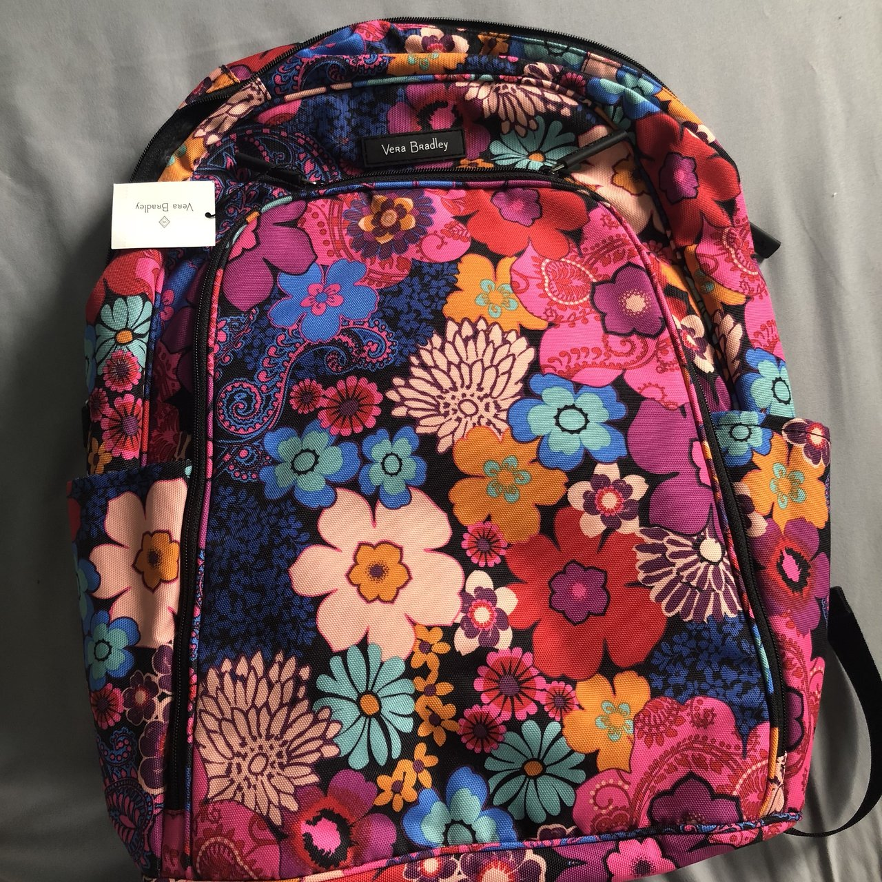 28680313e0  shelby j7. 6 months ago. United States. Vera Bradley laptop backpack  floral fiesta ...