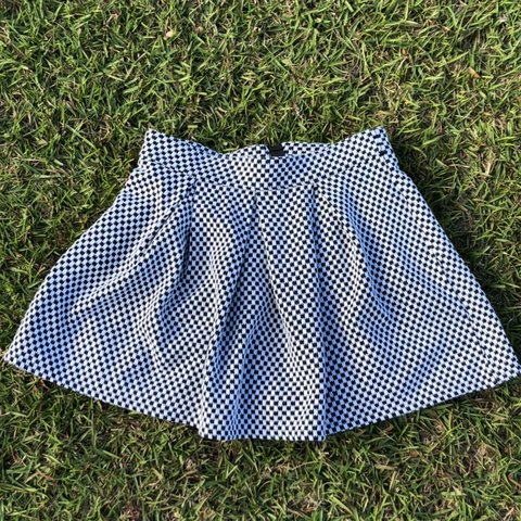 5406d67cf0 @luckymckaybf. in 3 minutes. DeFuniak Springs, United States. super cute black  and white checkeredish mini skirt . ...