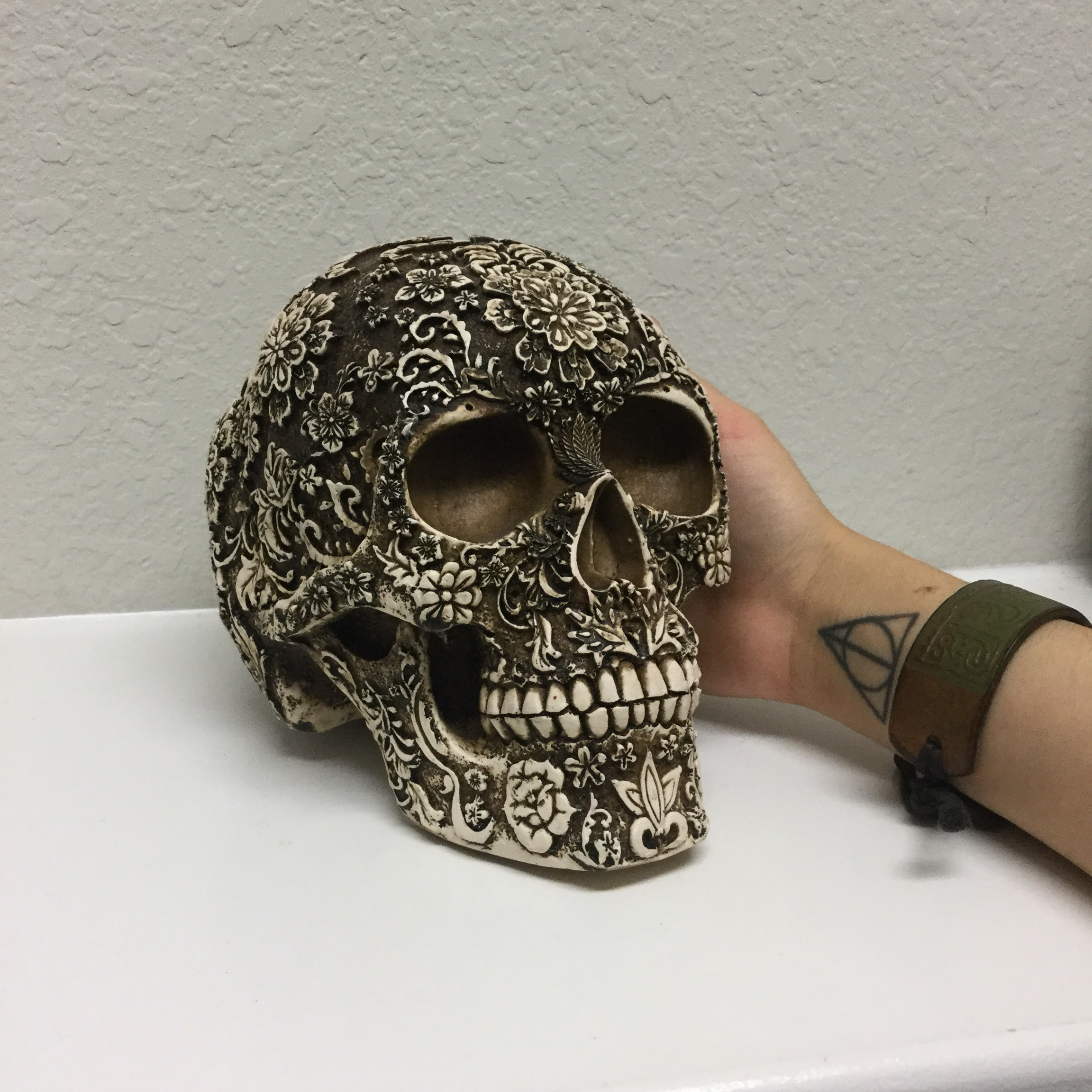 Hollow Whale Bone Carved Skull Purchased From Local Depop