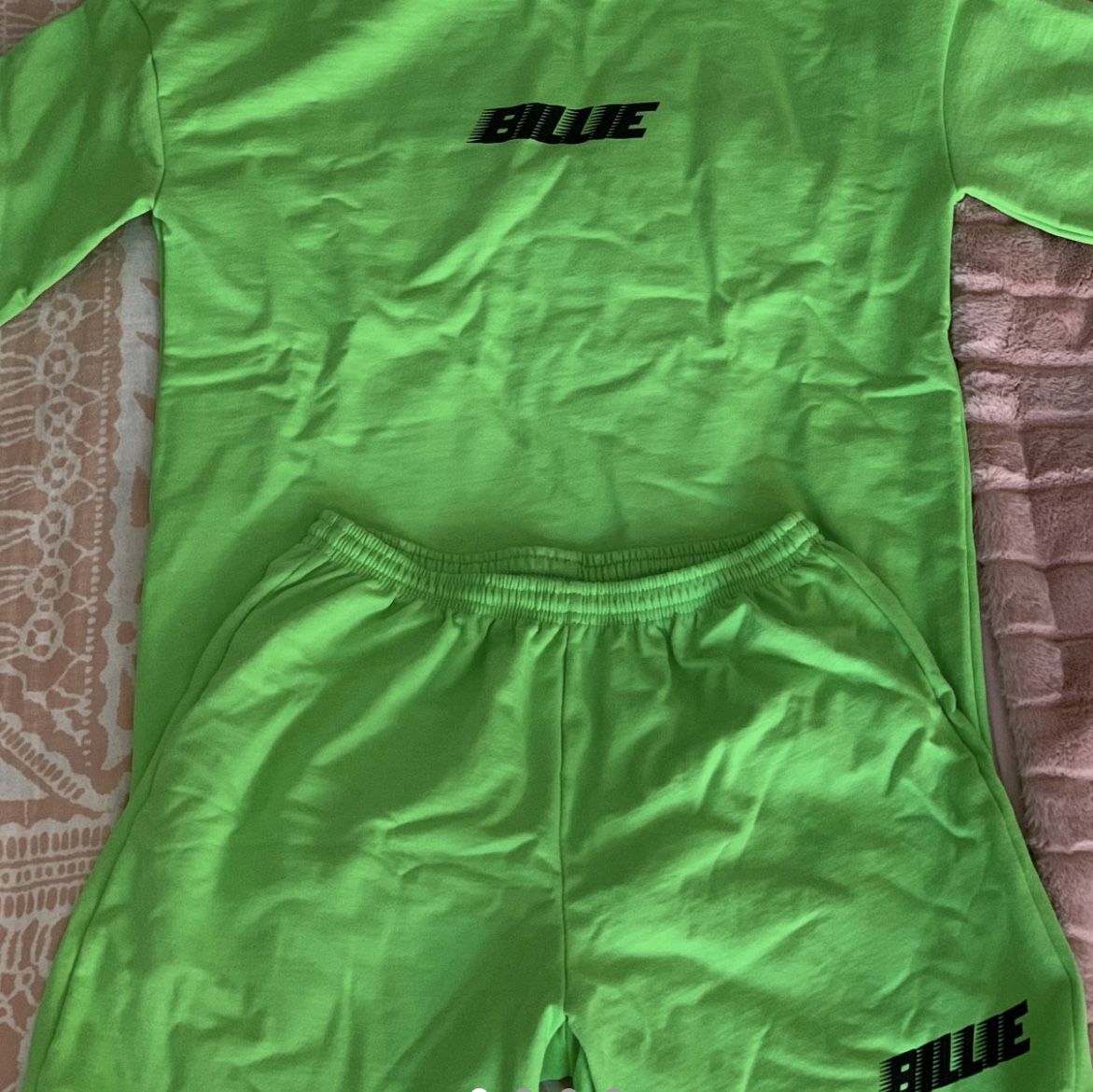 Billie Eilish Green Slime Sweatshirt Tee And Depop