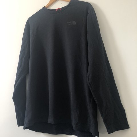 The north face black label long sleeve  074f16968