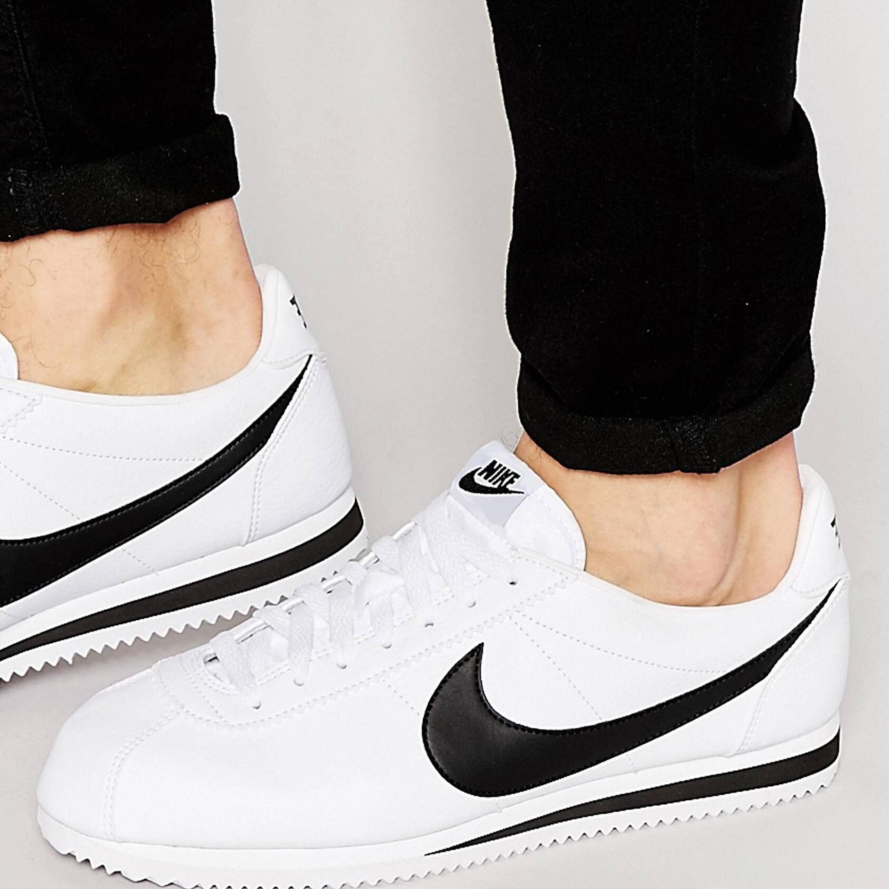 best sneakers 280b8 f2b5a Nike Cortez leather trainers in- 0