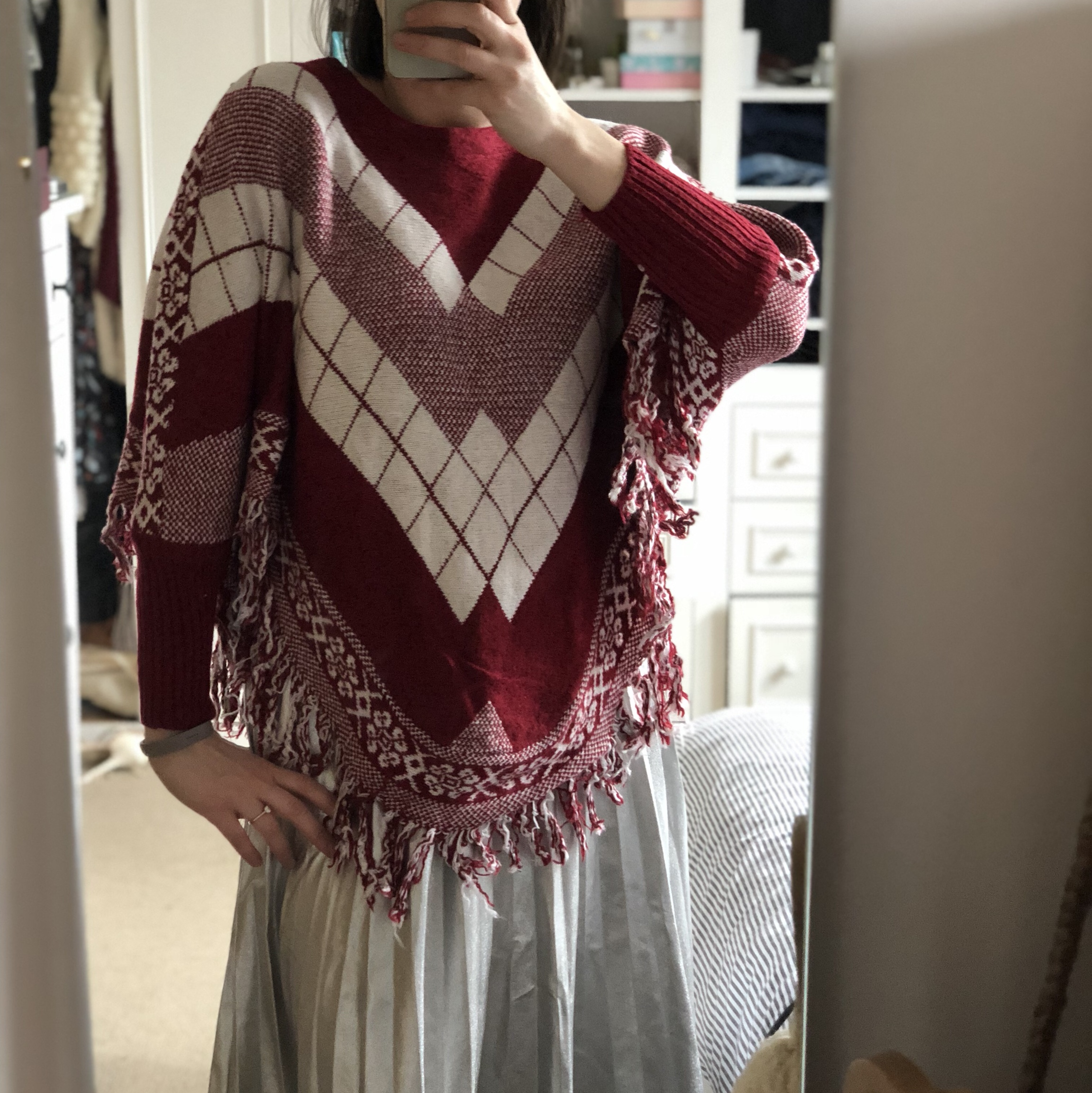 Poncho-Style Sweater