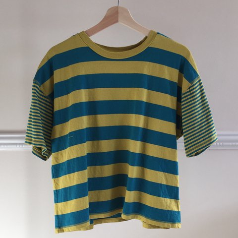 e9c67b1baa @redstripes. 10 months ago. United States. Yellow & blue striped tee  purchased from Urban Outfitters. Really cute ...
