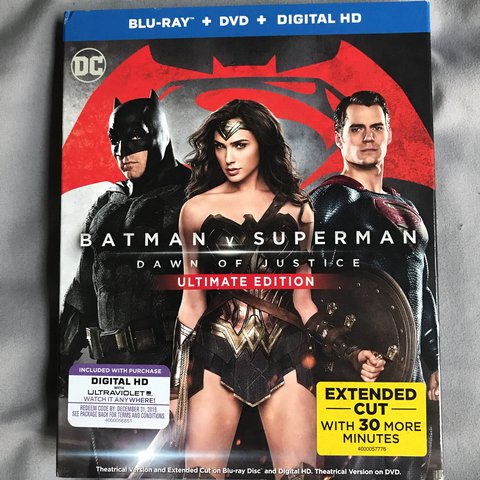batman v superman ultimate edition box set