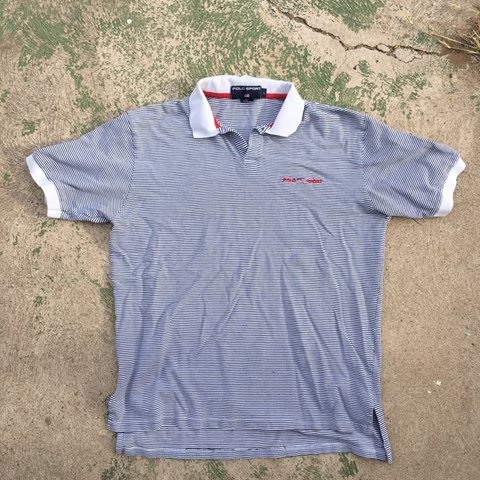 dda9052f vintage #90s #polo #polosport super clean polo collared and - Depop