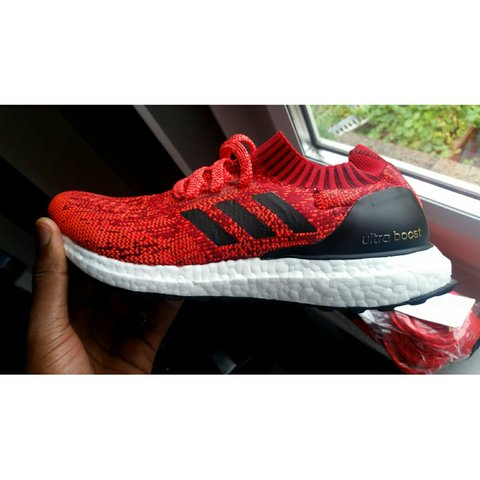 sports shoes dbea6 c50ca  evilphoto79. 3 years ago. London, United Kingdom. Adidas ultra boost  uncaged Red ...