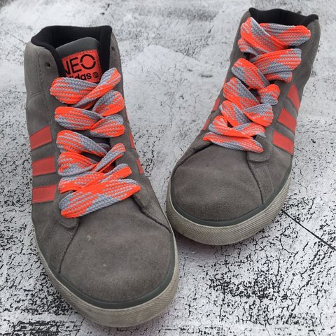b6f818f36dbe @rockersvintage. 4 months ago. New York, United States. Adidas Neo Suede  Hightop Sneakers Size: 10