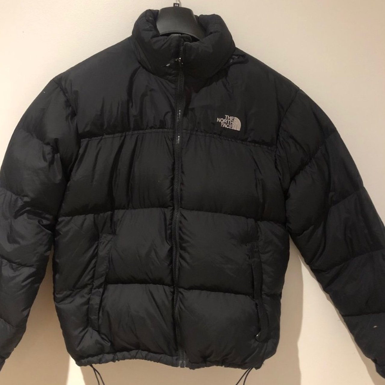 North Face 1996 Retro Nuptse Jacket Black puffer jacket M - Depop e3712033c