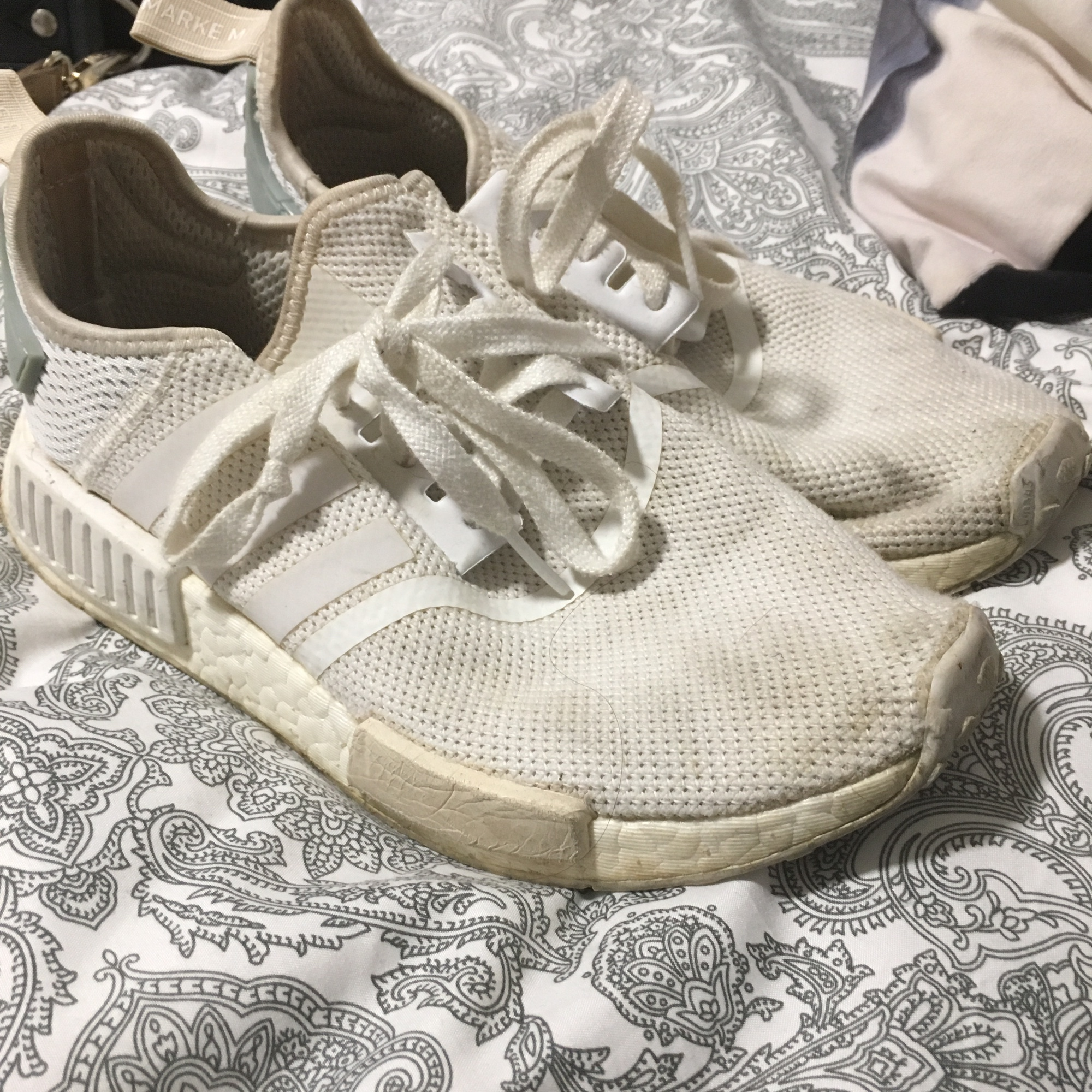 Adidas NMD's White Can be washed in