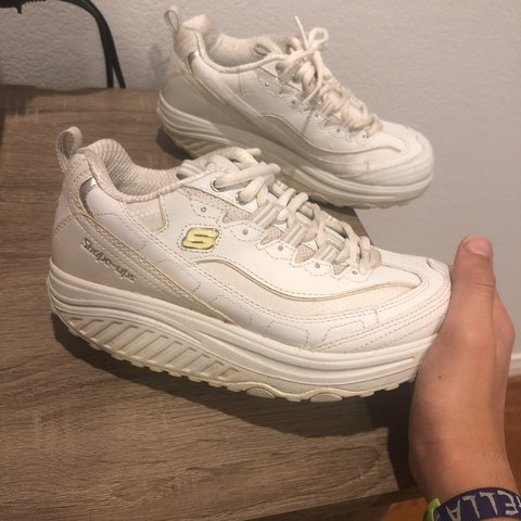 "67b658e5e913 Skechers platform ""Shape-up"" shoes THE BEST PLATFORM SHOES - Depop"