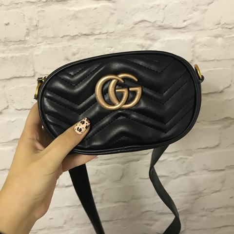 4718631619e Gucci bumbag. Open to offers 😝 chain included to use as - Depop