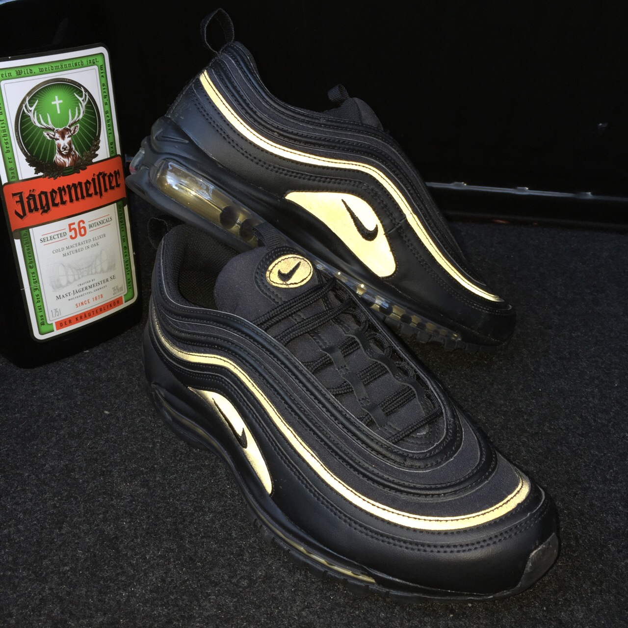 🍯Nike Air Max 97 Black Gold🍯 SOLD OUT
