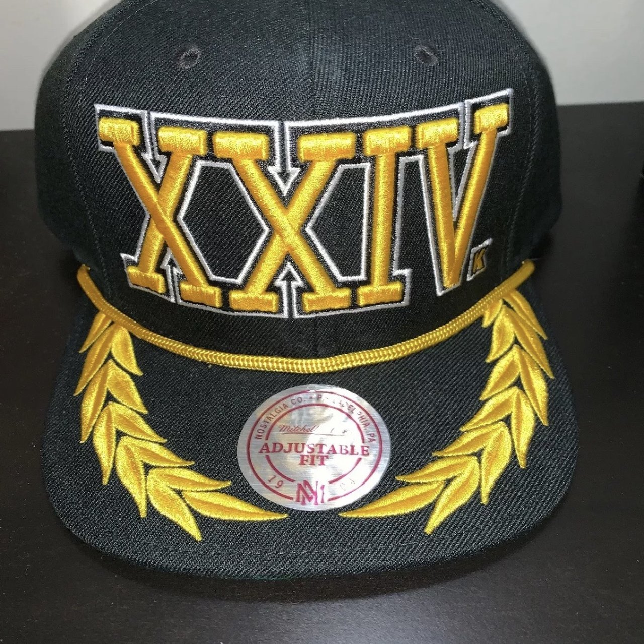 Bruno Mars Mitchell and Ness authentic 2017 24k XXIVK XXIV - - Depop 04f24632a9f