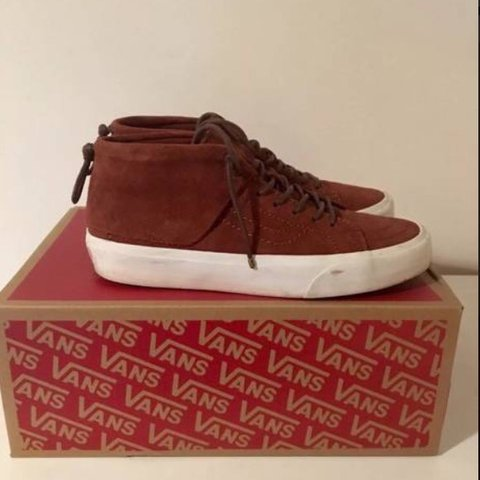 0b4176b01753ac Used (Very Good) The Sk8 Mid Moc CA of the Vans California - Depop