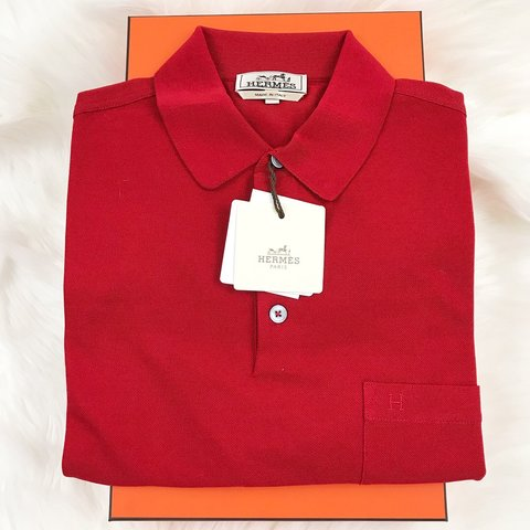 456dacf8 @nguyenboutiqueus. 5 months ago. San Jose, United States. HERMES H  embroidered buttoned polo ""