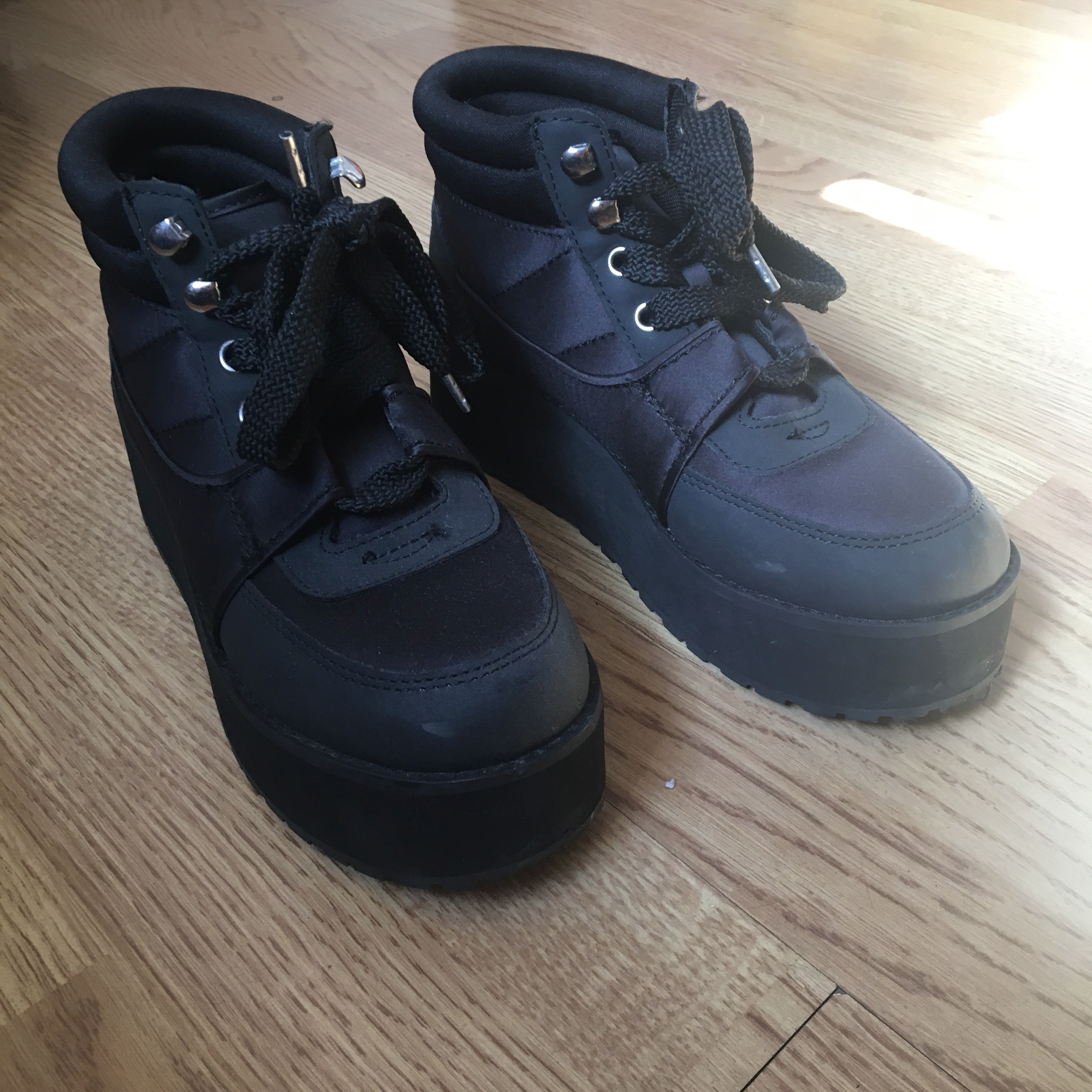 H\u0026M chunky platform trainers size 5 in
