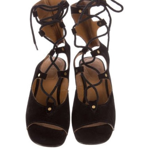 525645036f9  laurenmerr. 9 months ago. United States. CHLOÉ FOSTER GLADIATOR SANDALS