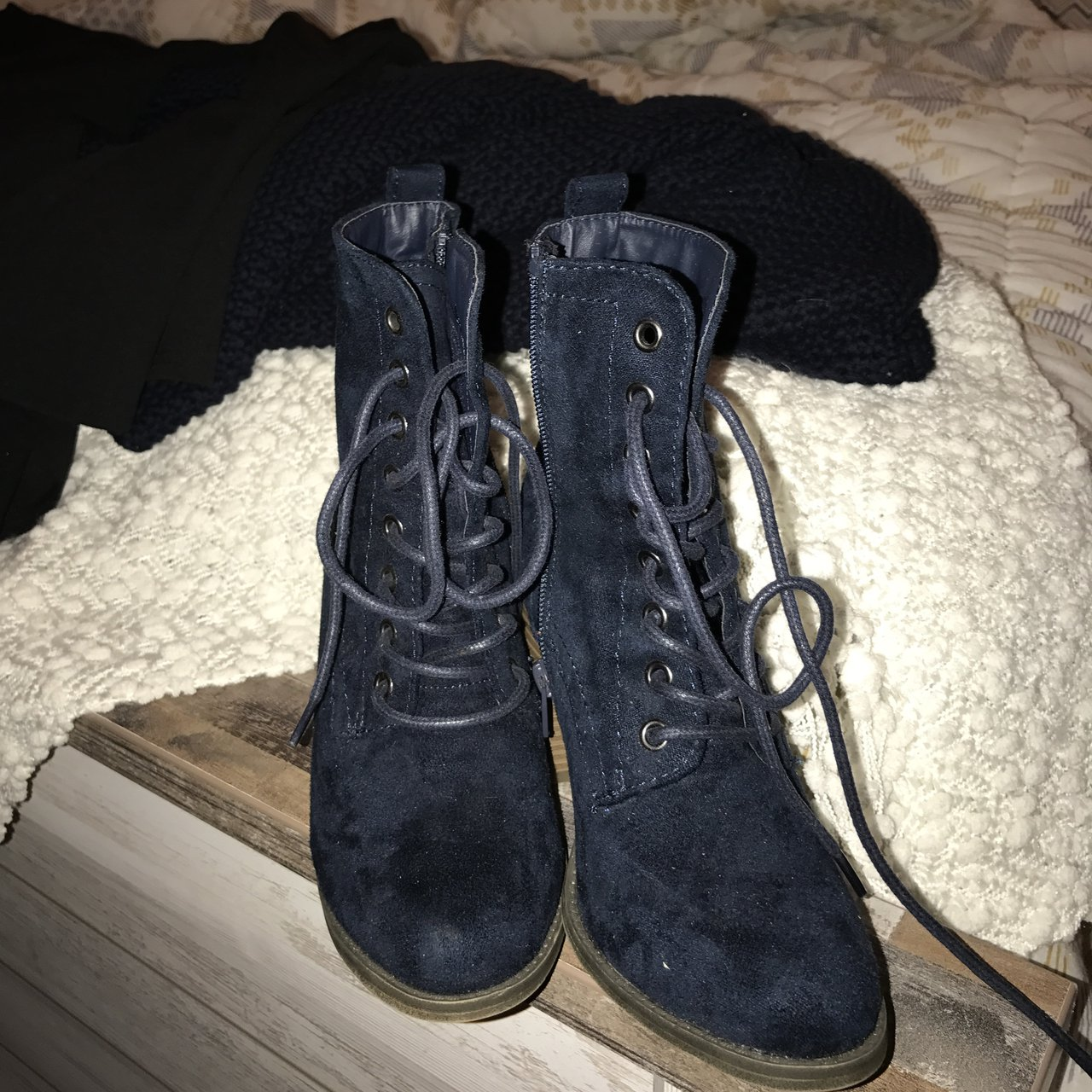 6522df8a09a1 mossimo navy boots