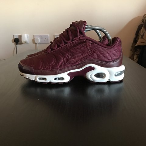size 40 0af1b 062e8  zackseddon. 2 years ago. Manchester, UK. Nike Air Max Plus TN - Burgundy  ...