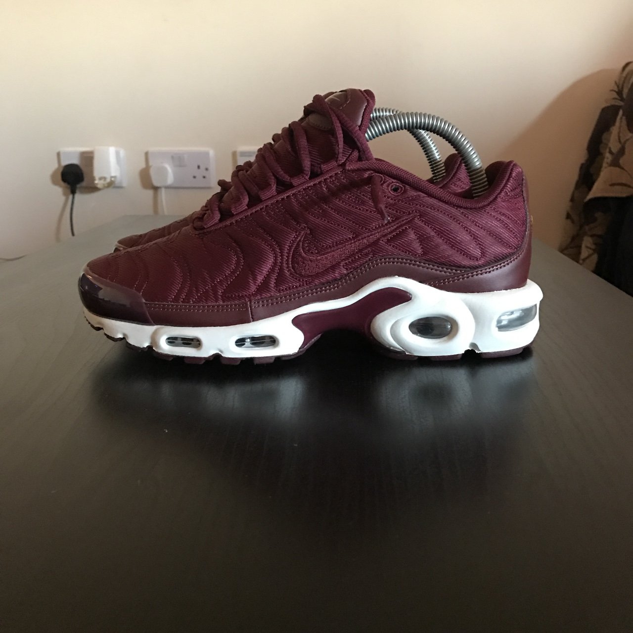 a096aa8a11 @zackseddon. 2 years ago. Manchester, UK. Nike Air Max Plus TN - Burgundy  ...
