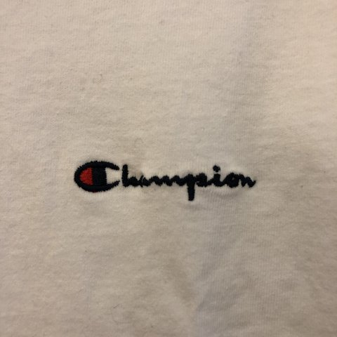 ea5074565ce516 Mens size SMALL Champion T-Shirt Never Worn Thick Champion - Depop