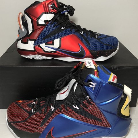 "in stock 538db 59fdd 2015 Nike LeBron 12 ""What- 0"