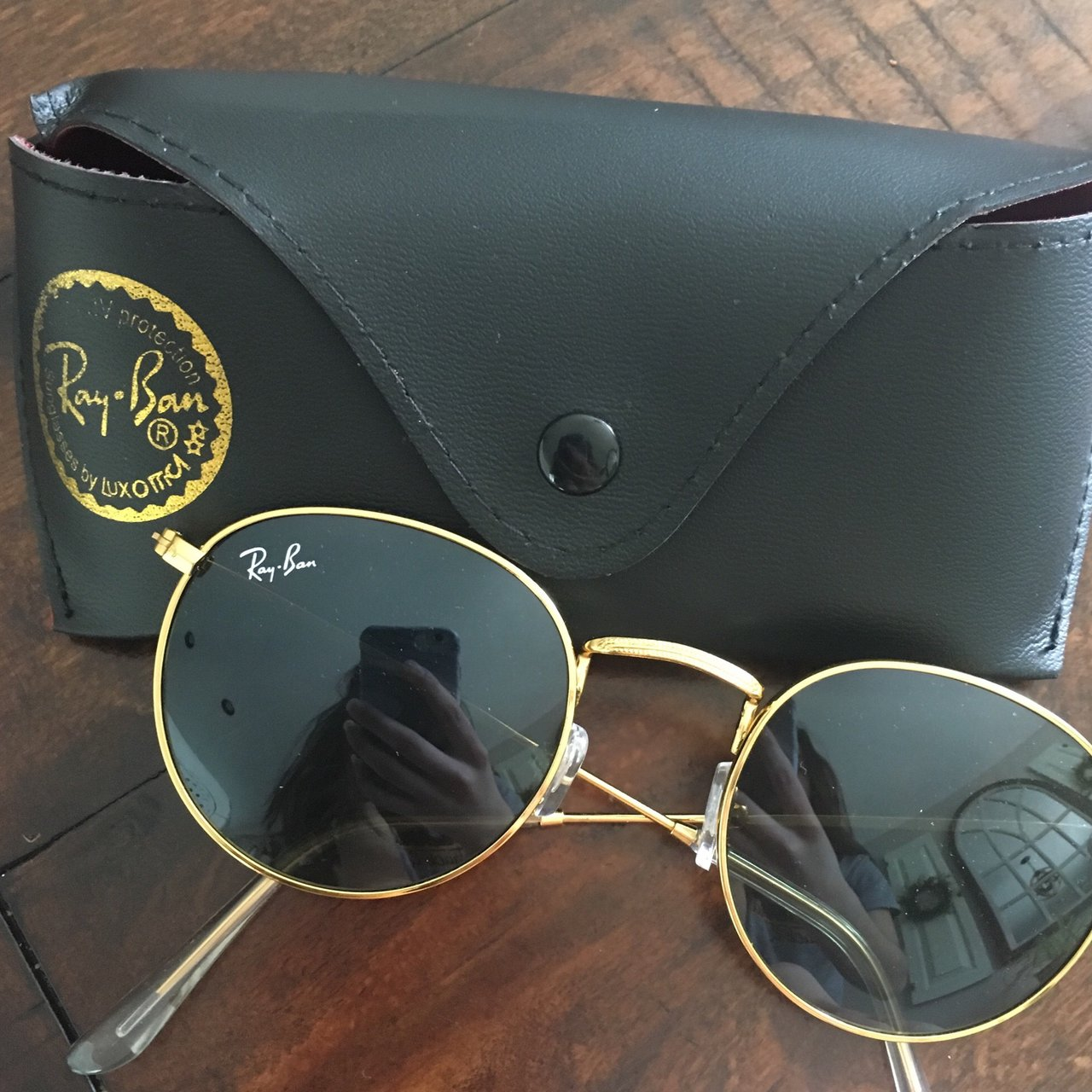 49e65331ecc Ray ban sunglasses ⚡️not sure if they re authentic