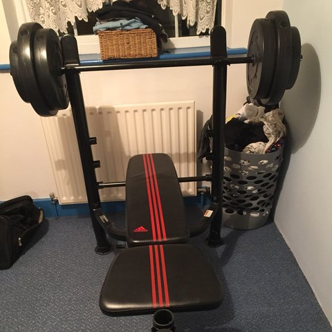 Full home gym set by adidas £ from argos last year i depop
