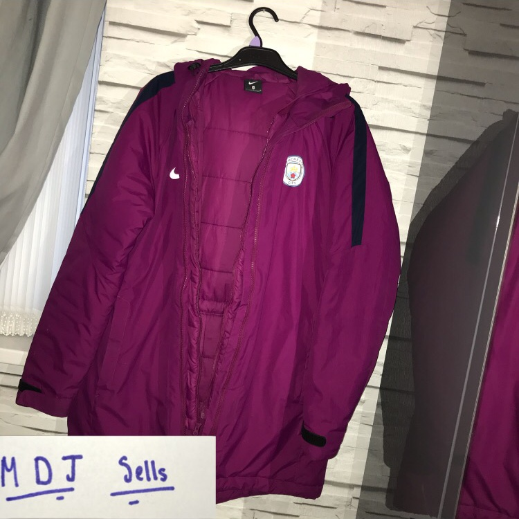 buy online 44a4d 31951 MANCHESTER CITY STADIUM COAT NIKE MAN CITY COAT... - Depop