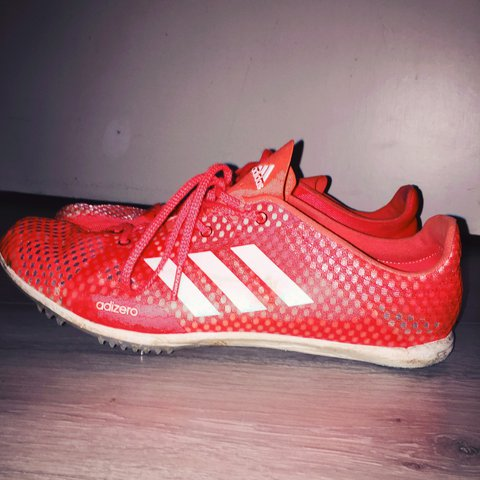 san francisco 684e3 7c40f  fin dd. last year. Kenilworth, United Kingdom. Running spikes, Adidas  adizero ambition 4 ...