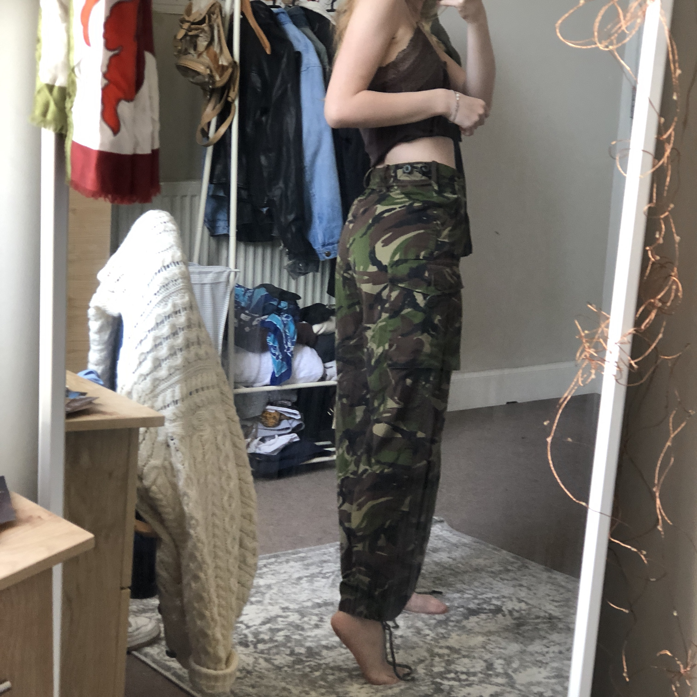 Most Insane Camo Printed Cargo Trousers These Are by Depop
