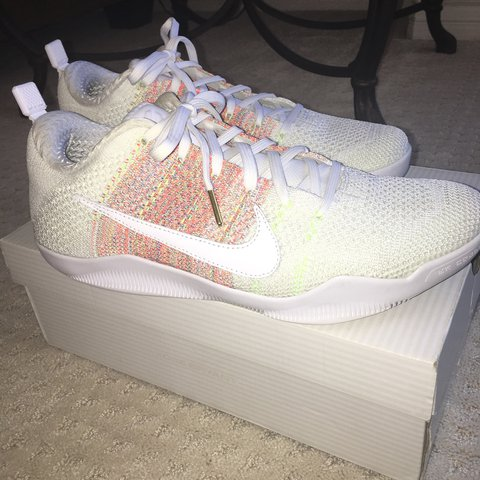 "100% Authentic Nike Kobe 11 Elite Low ""White Horse"" in great - Depop 2e34799a1"