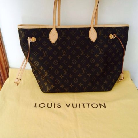 60923772d735 Buy bag Louis Vuitton Monogram Neverfull MM ORIGINAL