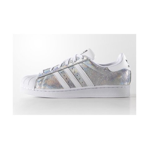 adidas superstar dames wit glitter