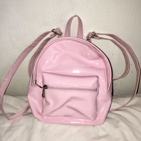 d84520fcc4 💓🍼 Kawaii small baby pink backpack! Good condition. Super - Depop