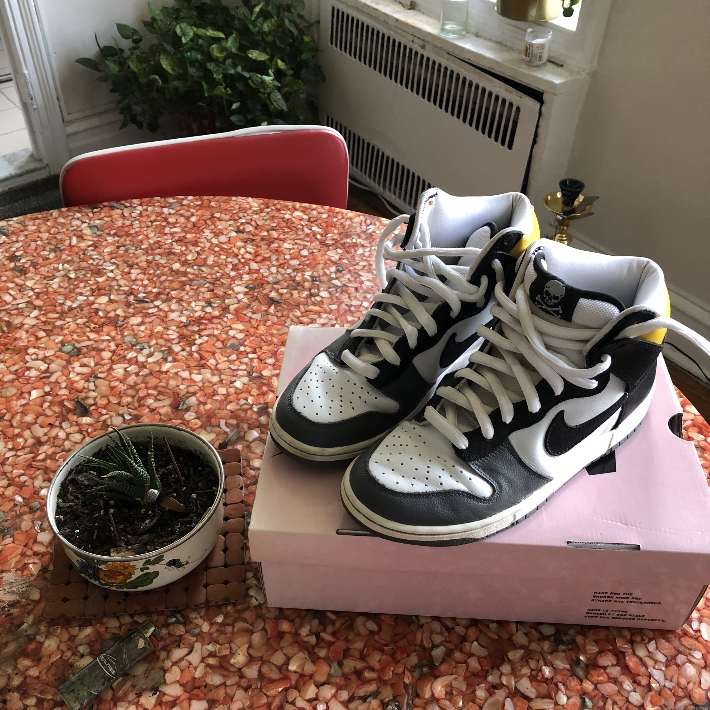 """new style 1e07c fe540 Nike SB Dunk High """"Shimizu"""" Size 9 Great condition... - Depop"""