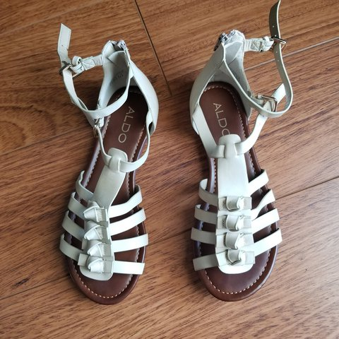 a8535c9d1d5 🌼ALDO Gladiator Sandals🌼 Used once and in excellent for - Depop