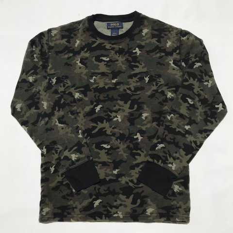 a75fba0ff @ninety5till. 3 months ago. Inglewood, United States. Polo Ralph Lauren camo  thermal shirt. Great condition ...