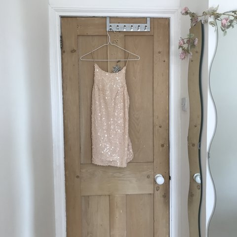 d379e0c9 @cxryslecrxss. 3 months ago. Brighton, United Kingdom. Motel rocks nude sequin  dress size small ...