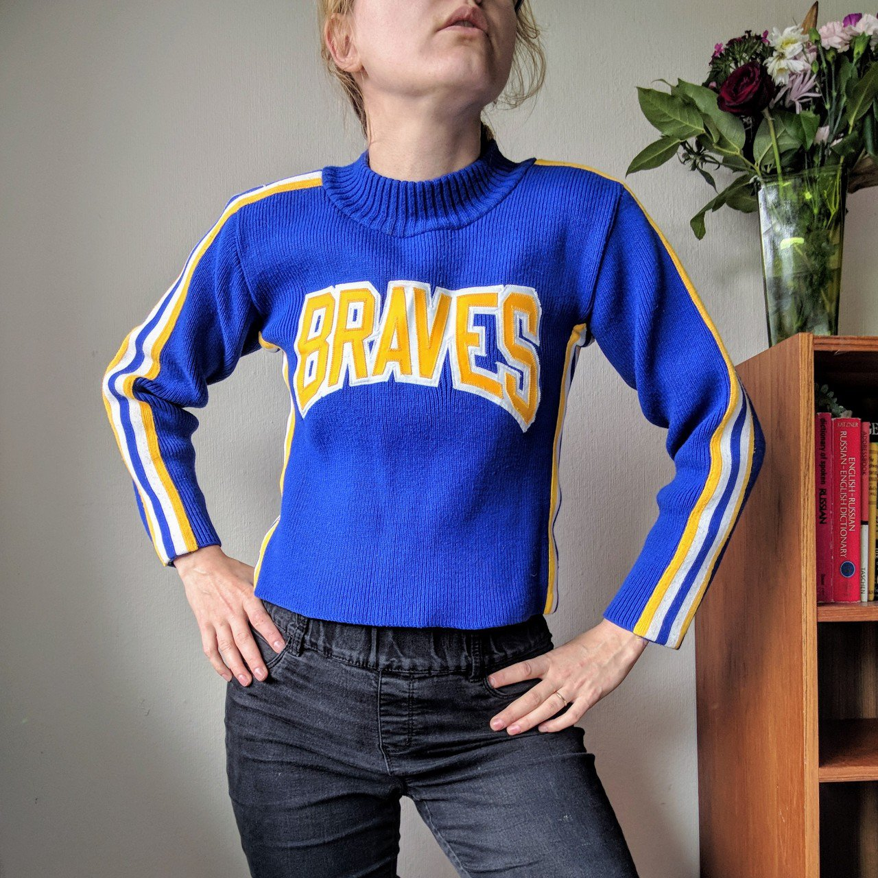 a6cd685c9c9d7 Vintage Cheer Sweater! There is something