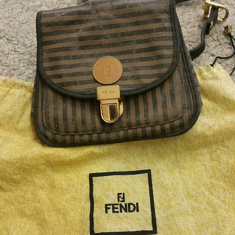 63ad772aadfa Awesome vintage Fendi hip bag   fanny pack. It comes with is - Depop