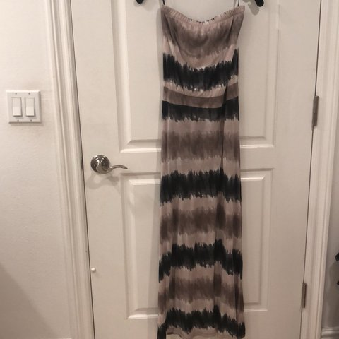 b95920d1eb Strapless tube top Maxi dress Tie Dye. From forever 21. Size - Depop