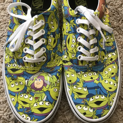 08eb2a2461 Limited Edition Toy Story x Vans Era Aliens (Glow in the ✨ - Depop