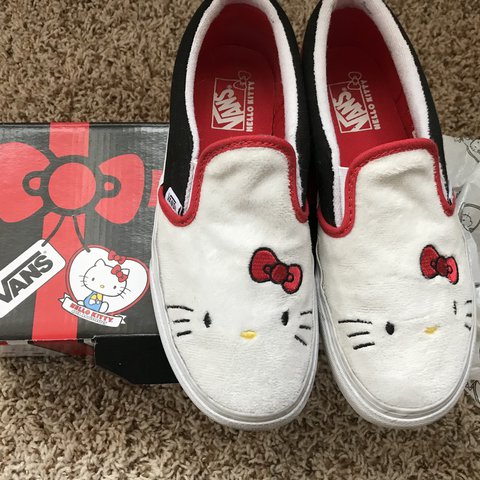 1c49c34ec8 Hello Kitty 40th Anniversary Vans ❤ These are so cute and a - Depop